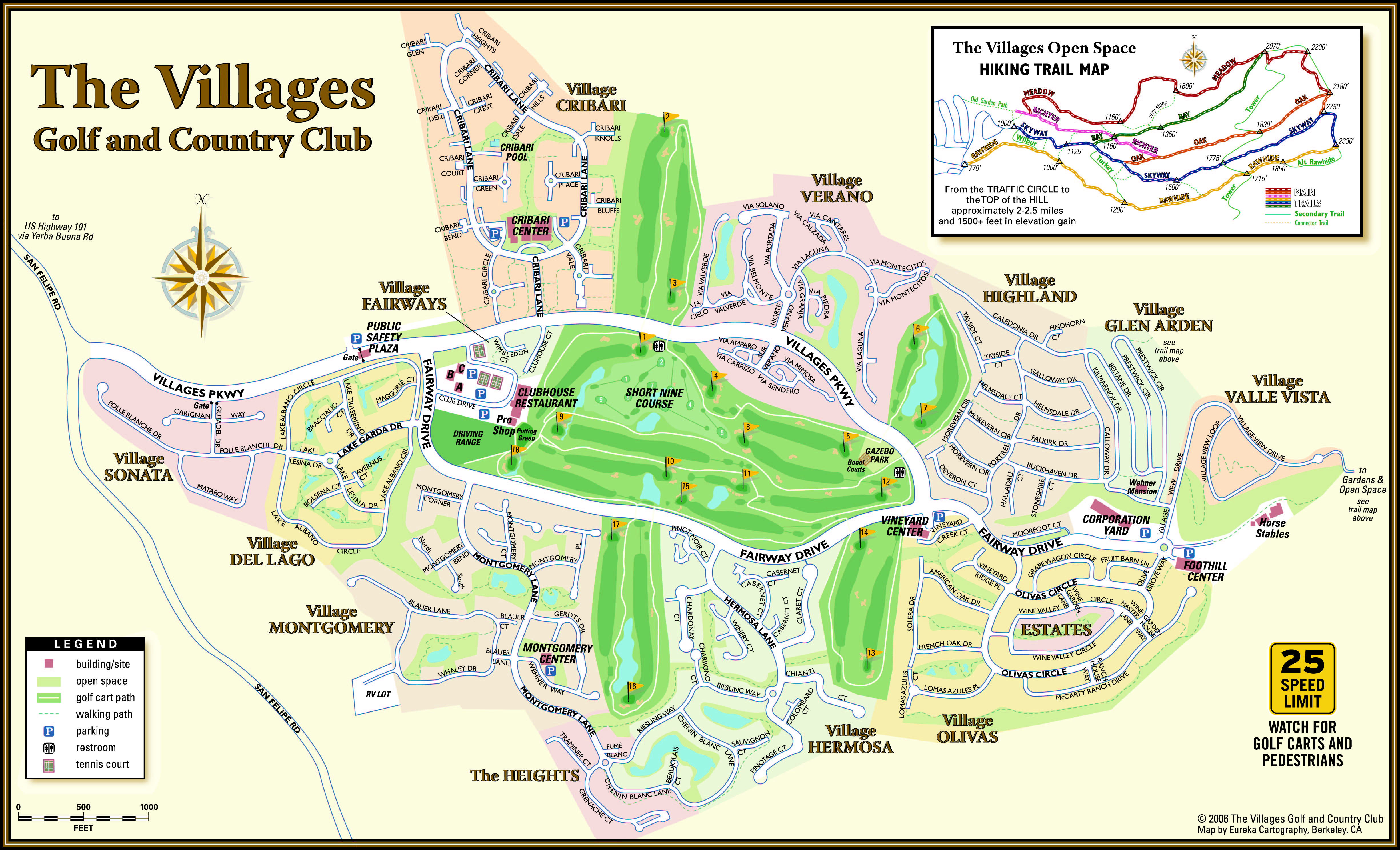 The Courses The Villages Golf And Country Club